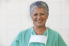 Portrait of female nurse Stock Photography