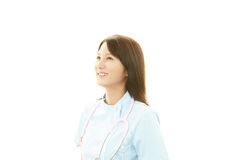 Portrait of a female nurse Royalty Free Stock Photo