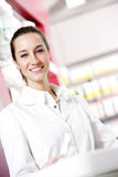 Portrait of a female pharmacist Stock Photography