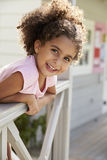 Portrait Of Female Pupil Outside Classroom At Montessori School Royalty Free Stock Photography