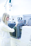 Portrait of a female researcher Stock Photo