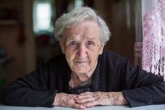 Portrait of female retirement age. Stock Photography
