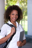 Portrait of female student Royalty Free Stock Images