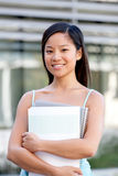 Portrait of female student Royalty Free Stock Photo