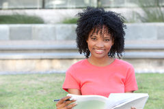Portrait of female student Stock Image
