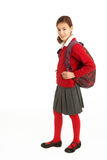 Portrait Of Female Student In Uniform Royalty Free Stock Photography