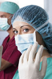 Portrait of a female surgeon Royalty Free Stock Photography