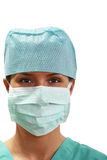 Portrait of a female surgeon Royalty Free Stock Images