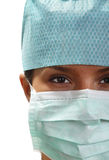 Portrait of a female surgeon Royalty Free Stock Image