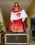 Portrait femelle grandeur nature de saint présenté Photographie stock
