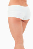 Portrait of feminine buttocks Royalty Free Stock Photos