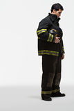 Portrait of a firefighter Royalty Free Stock Photos