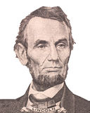 Portrait of first U.S. president Abraham Lincoln Royalty Free Stock Image