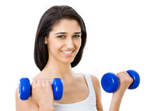 Portrait of fitness woman Royalty Free Stock Photography