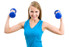 Portrait of fitness woman royalty free stock photo