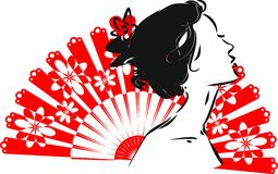 Portrait of flamenco dancer Royalty Free Stock Photography