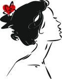 Portrait of flamenco dancer Royalty Free Stock Photos