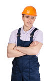 Portrait of foreman Stock Photography