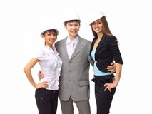 Portrait of friendly business team Royalty Free Stock Images