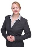 Portrait of a friendly businesswoman Royalty Free Stock Images