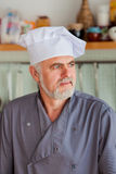 Portrait of Friendly chef Royalty Free Stock Photos
