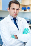 Portrait of a friendly doctor Stock Photo