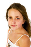 Portrait of a friendly girl Royalty Free Stock Photos