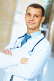 Friendly male doctor Royalty Free Stock Photography