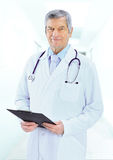 Portrait of friendly male doctor Royalty Free Stock Images