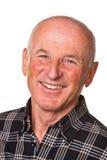 Portrait of a friendly older man Stock Image