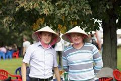Portrait of friends Stock Images