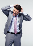 Portrait of a frustrated businessman Stock Image