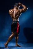 Portrait in full growth bodybuilder Stock Photo