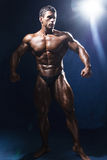 Portrait in full growth bodybuildery Stock Photography