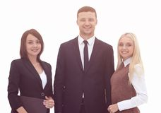Portrait in full growth. professional business team. Business concept stock images