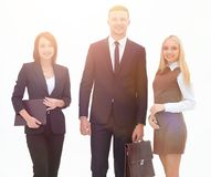 Portrait in full growth. professional business team. Business concept royalty free stock photography