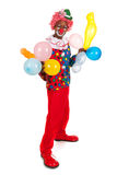 Portrait funny clown Royalty Free Stock Images
