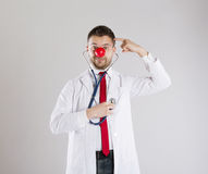 Funny doctor Stock Photography