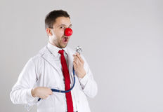 Funny doctor Stock Photos