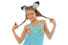 Portrait of a funny teen Royalty Free Stock Photography