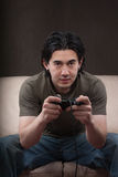 Portrait of a gamer Royalty Free Stock Photography