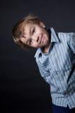 Portrait of gay boy in the studio Stock Photo
