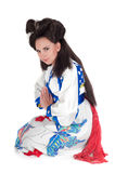 Portrait Of Geisha Royalty Free Stock Photos