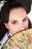 Portrait Of Geisha Stock Image