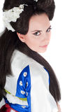 Portrait Of Geisha Stock Photography
