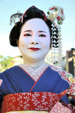 Portrait of a geisha Royalty Free Stock Images