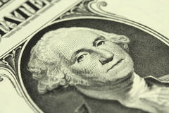 Portrait of George Washington Stock Photo