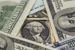 Portrait of George Washington Royalty Free Stock Photos