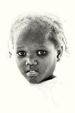 Portrait of a Ghanaian girl Stock Image