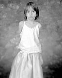 Portrait of a Girl. 4 year old girl posing at the studio Royalty Free Stock Images